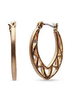 Lonna & Lilly Gold-Tone Hoop Earrings