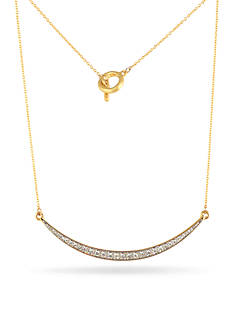 Karen Kane Gold-Tone Lunar Eclipse Mini Collar Necklace