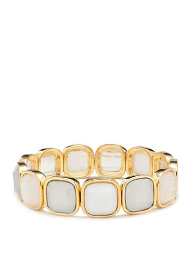 Chaps Neutral Multi-Color Stretch Bracelet