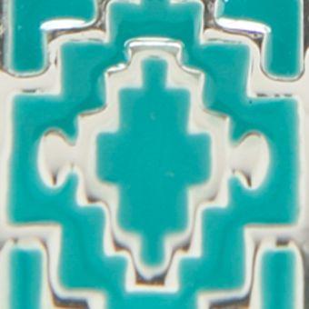 Hoop Earrings: Blue Chaps Bluffton Nights C Hoop Earrings