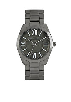 Geoffrey Beene Men's Clou de Paris Gunmetal Watch