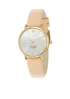 kate spade new york Classic Gold-Tone Metro Watch