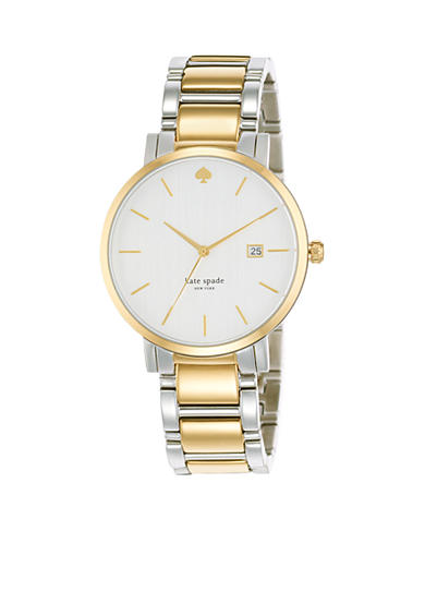 kate spade new york® Large Two-Tone Gramercy Watch