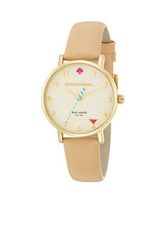 kate spade new york® 5 O'Clock Metro Watch