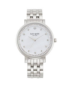 kate spade new york® Women's Stainless Steel Monterey Three-Hand Glitz Watch
