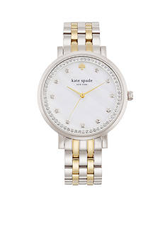kate spade new york® Women's Two-Tone Stainless Steel Monterey Three-Hand Glitz Watch