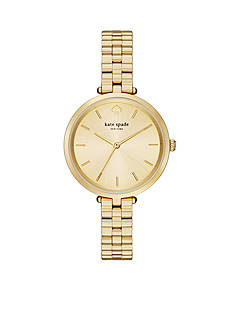 kate spade new york® Women's Holland Gold-Tone Stainless Steel Watch
