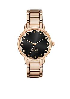 kate spade new york Women's Gramercy Rose-Gold Tone Three Hand Watch