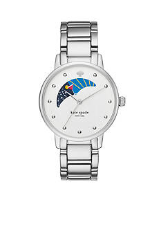 kate spade new york® Gramercy Moon Phase Three-Hand Watch