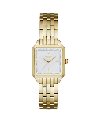 kate spade new york® Washington Square Gold-Tone Three-Hand Watch