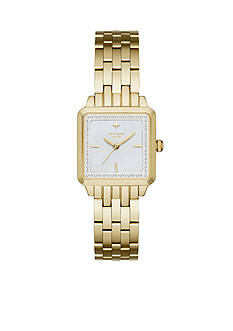 kate spade new york Washington Square Gold-Tone Three-Hand Watch