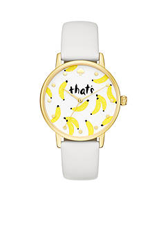kate spade new york Women's Metro Bananas Watch