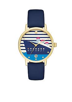 kate spade new york Women's Metro Blue Watch