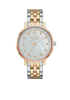 kate spade new york Women's Three-Tone Monterey Watch