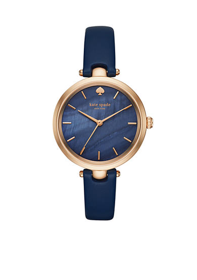 kate spade new york® Women's Holland Three Hand Rose Gold-Tone Watch