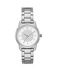kate spade new york Women's Silver-Tone Boathouse Watch