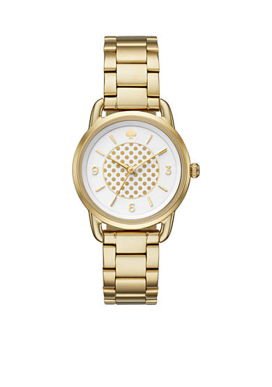 kate spade new york® Women's Gold-Tone Boathouse Watch