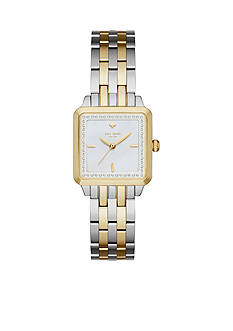 kate spade new york Women's Two-Tone Washington Square Watch