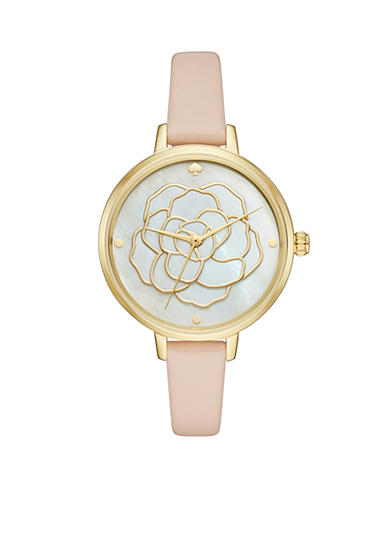kate spade new york® Women's Holland Rose Cut Out Watch