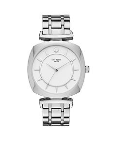kate spade new york Women's Silver-Tone Barrow Watch