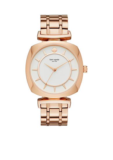 kate spade new york® Women's Rose Gold-Tone Barrow Watch