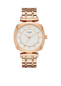 kate spade new york Women's Rose Gold-Tone Barrow Watch