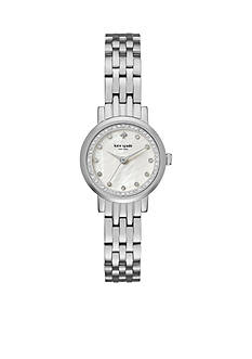 kate spade new york Women's Silver-Tone Mini Monterey Watch