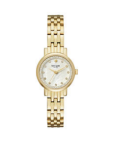 kate spade new york Gold-Tone Mini Monterey Watch