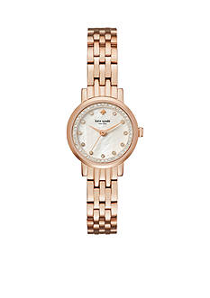 kate spade new york Rose Gold-Tone Mini Monterey Watch