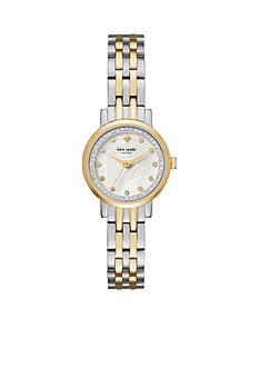 kate spade new york Women's Two-Tone Mini Monterey Watch