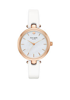 kate spade new york Women's Leather Holland Watch