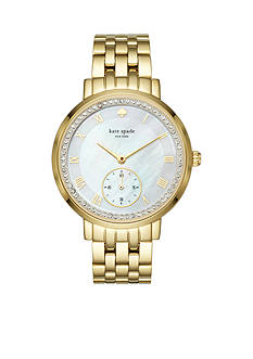 kate spade new york® Gold-Tone Monterey Watch