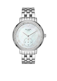 kate spade new york Silver-Tone Monterey Watch