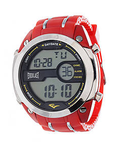 EVERLAST Red Digital Rubber Watch