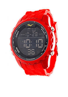 EVERLAST Rubber Band Waterproof Watch