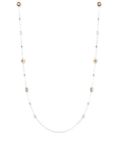 Judith Jack Sterling Silver Delicate Beaded Long Necklace