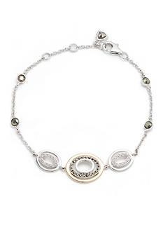 Judith Jack Sterling Silver Crystal Delicate Bracelet