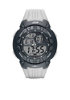 Skechers Men's Voorhees Digital Chronograph Gray Watch