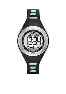 Skechers Women's Black Silicone Digital Watch