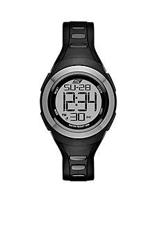 Skechers Women's Tennyson Black Silicon Digital Watch