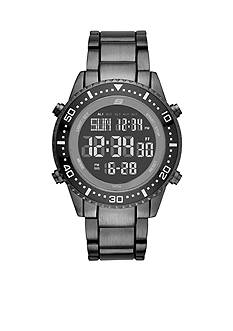 Skechers Men's Matthews Black Metal Digital Watch