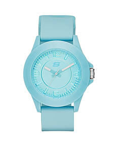 Skechers Women's Rosencrans Three-Hand Silicone Strap Watch