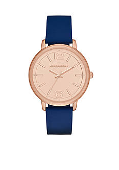 Skechers Women's Ardmore Blue Silicone Strap Watch