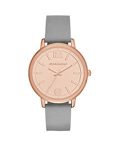 Skechers Women's Ardmore Gray Silicone Strap Watch