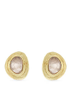 Cole Haan Gold-Plated Bang on Fashion Stud Earrings