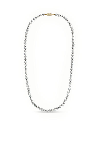 Cole Haan Knotted Imitation Pearl Strand Necklace