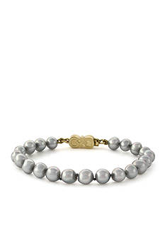 Cole Haan Silver-Tone Pearl Bracelet