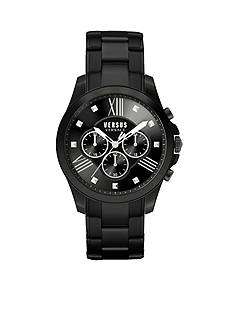 VERSUS VERSACE Men's Black Chronograph Watch