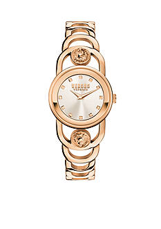VERSUS VERSACE Carnaby Street Quartz Gold-Tone Stainless Steel Watch