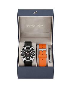 Nautica NST 07 Date Watch Box Set